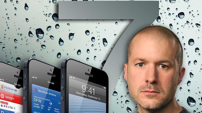 Apples Chefdesigner Jonathan Ive hat die Verantwortung für iOS 7.