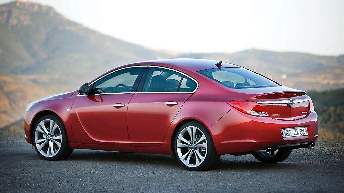 Folgte auf den Vectra: der Opel Insignia.