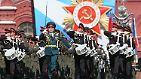 Den Jahrestag des Siegs über Nazi-Deutschland begeht Russland mit einer großen Militärparade.