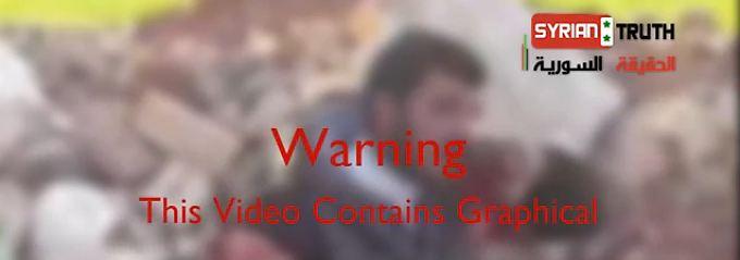 Drastischen Inhalt enthält das Video auf jeden Fall. Ob es die Wahrheit zeigt, ist nicht geklärt.