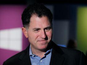 Gründer und Bieter in der Übernahme: Michael Dell.
