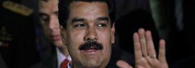 """Präsident Maduro nannte Obama kürzlich den """"obersten aller Teufel""""."""