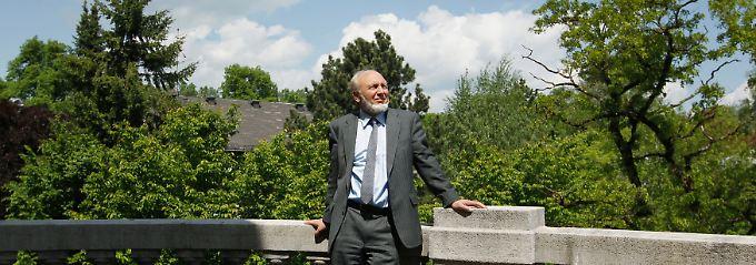 Streitbarer Konjunkturexperte: Hans-Werner Sinn leitet das Münchener Ifo-Institut.