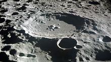 Reste von Asteroiden: Mondkrater enthalten fremdes Gestein