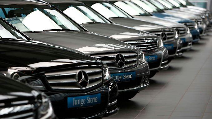 Mercedes am laufenden Meter: Mit Niederlassungen geht es nicht, ohne auch nicht.