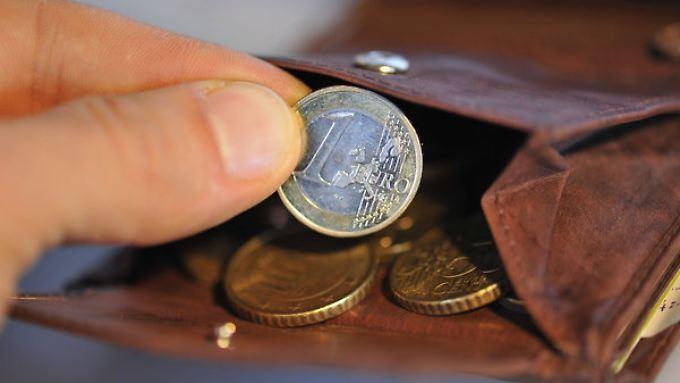 """Die von der EZB angestrebte Marke von """"um die 2 Prozent"""" Inflation liegt in Deutschland noch in weiter Ferne."""