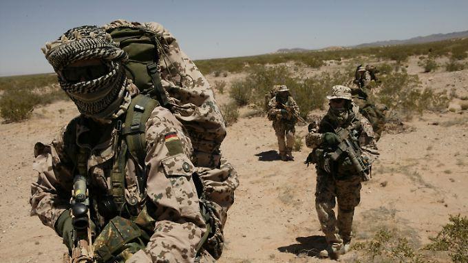 Eine extremistische Gesinnung muss bei Bundeswehrsoldaten gerichtlich nachgewiesen werden.