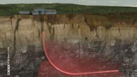 """Umstrittene Gasförderung: Merkel fordert beim Fracking """"äußerste Vorsicht"""""""
