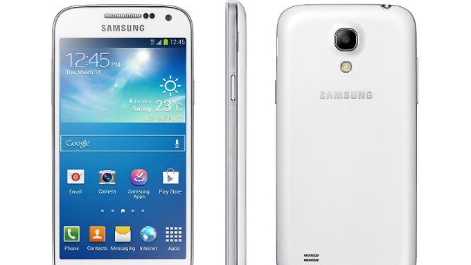 Samsung präsentiert Neuheiten: Neues S4 und Tablet gehen auf Tauchstation