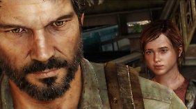 Joel und Ellie, Vaterfigur und Heranwachsende.