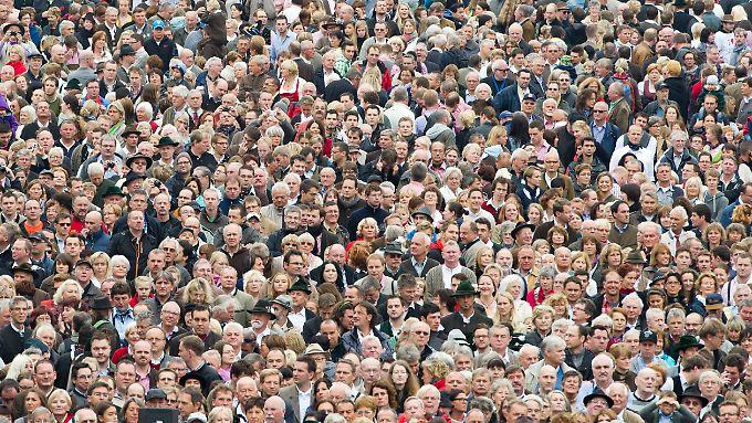 Die letzten Volkszählungen gab es 1987 im Westen, 1981 im Osten Deutschlands.