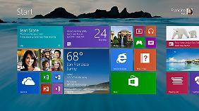 Nutzer haben unter Windows 8.1 mehr Möglichkeiten die Oberfläche nach ihren Wünschen zu gestalten.