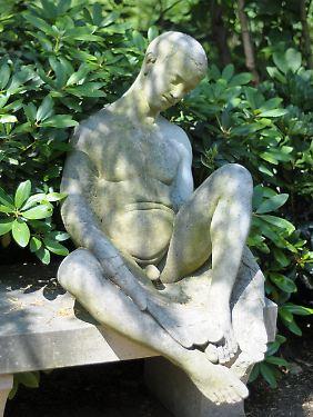 So sah die Skulptur ursprünglich aus.