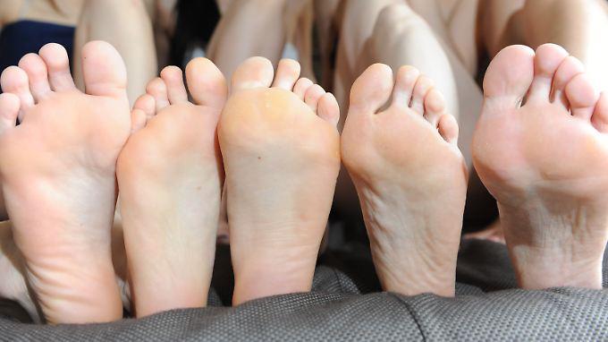 Füße tragen jeden Menschen durchs Leben.