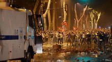 Wutwelle in der Türkei: Straßenschlachten erschüttern Istanbul