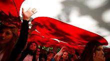 Tag vier der Proteste in der Türkei: Und wieder fliegen Tränengas-Granaten