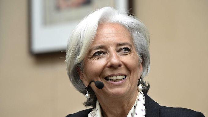 IWF-Chefin Lagarde ist die Ausnahme.
