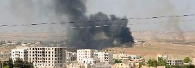 Im syrischen Bürgerkrieg werfen sich beide Seiten gegenseitig den Einsatz von Kampfgas vor.