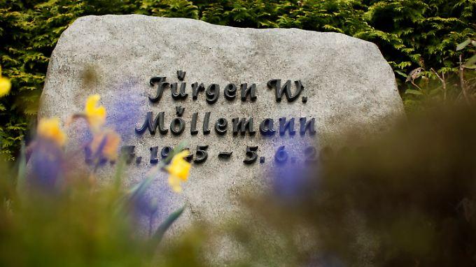 Möllemanns Grab in Münster.