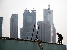 Chinas Wachstumsziel für 2013 sind 7,5 Prozent.