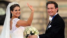 Im Juni heirateten die Prinzessin und der englische Hedgefonds-Manager in Schweden.