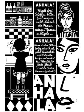 Immer wieder lässt Abirached grafische oder typografische Elemente einfließen - jede Seite wird so zum kleinen Kunstwerk.