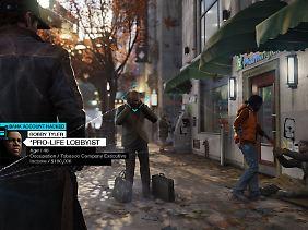 """Szene aus Ubisofts Hacker-Spiel """"Watch_Dogs""""."""