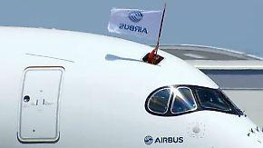 Milliardenschweres Prestigeprojekt: A350 meistert ersten Testflug