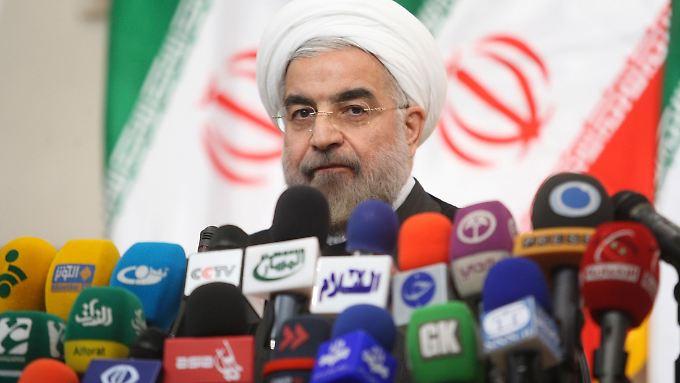 Hassan Ruhani gilt als moderater Reformer.