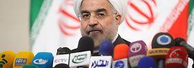 Neue Töne aus dem Iran: Ruhani signalisiert Mäßigung