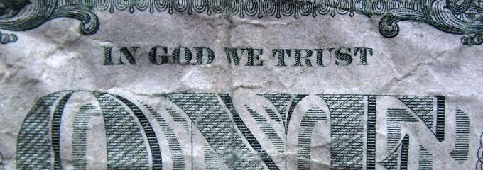 """""""Wir vertrauen auf Gott"""": Vor dem Treffen der Währungshüter bleiben Devisenstrategen kaum greifbare Orientierungspunkte."""