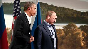 G8-Gipfel in Nordirland: Syrien-Gespräche drohen in Sackgasse zu enden