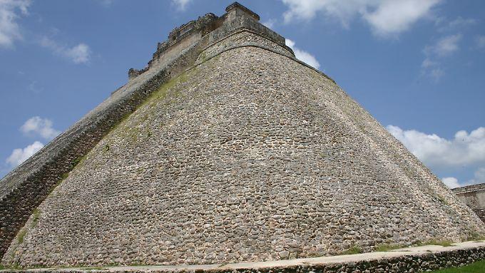 Maya-Ruinen in Uxmal bei Campeche.