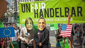 Umstrittenes Freihandelsabkommen: Obama gibt sich optimistisch