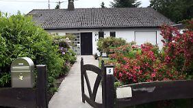 Ein ganz normales Haus. Die Nachbarn beschreiben den Verdächtigen als ruhig und freundlich.