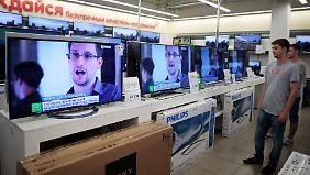 Die russischen Medien kennen nur noch ein Thema: Snowden und das Kräftemessen mit den USA.