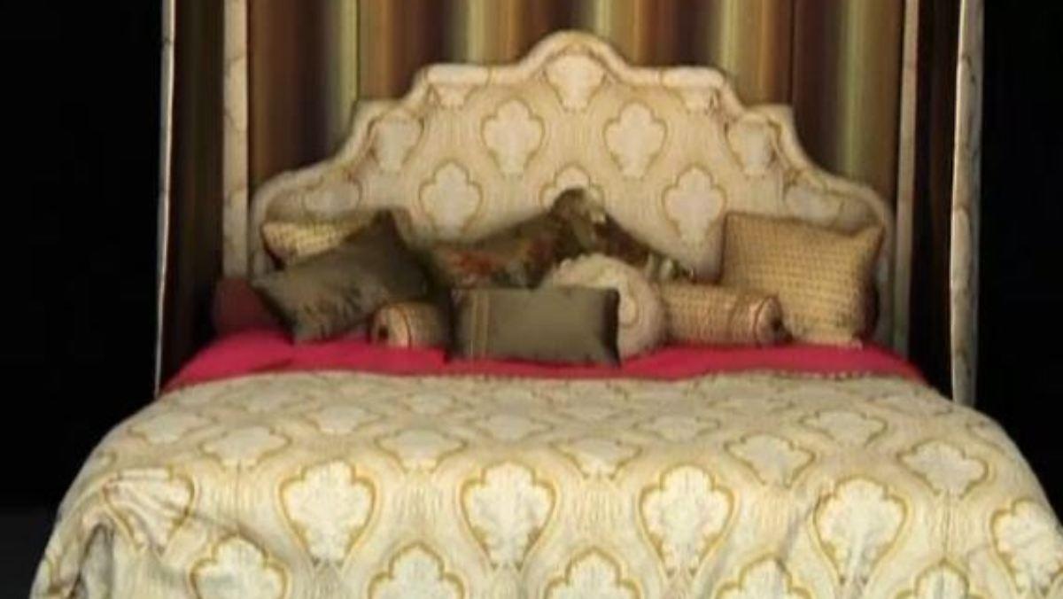 hier schl ft sich 39 s himmlisch im teuersten bett der welt liegt man auf cashmere n. Black Bedroom Furniture Sets. Home Design Ideas