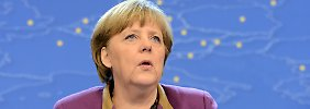 Nachhilfe für Schuldenstaaten: Merkel empfiehlt Leiharbeit