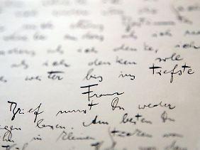 Ein Brief Kafkas.