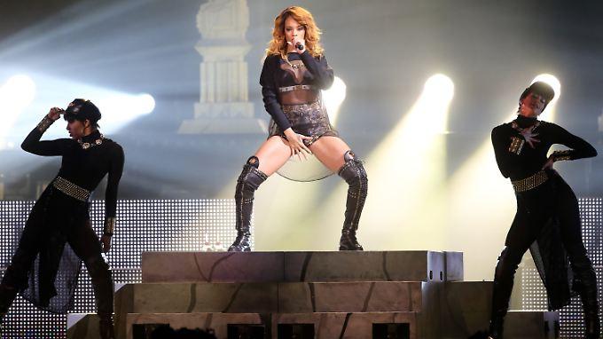 Richtig sexy geht anders: Rihanna.