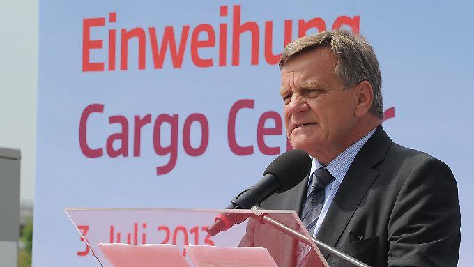 Flughafenchef Mehdorn hält am Konzept der Teileröffnungen fest.