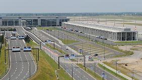 Am Nordpier des künftigen Hauptstadtflughafens könnten die ersten Flugzeuge starten.