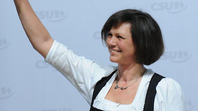 Ilse Aigner tritt als Landwirtschaftsministerin und Bayerin gerne im Dirndl auf.