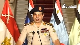 Er gilt als der neue starke Mann des Landes: General Abdel Fattah al-Sisi.