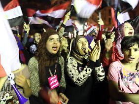 Ägypten hat mit riesigen Problemen zu kämpfen. Doch jetzt wird erst einmal gefeiert.