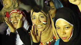 Ägypten nach dem Putsch: Kairo feiert Entmachtung Mursis