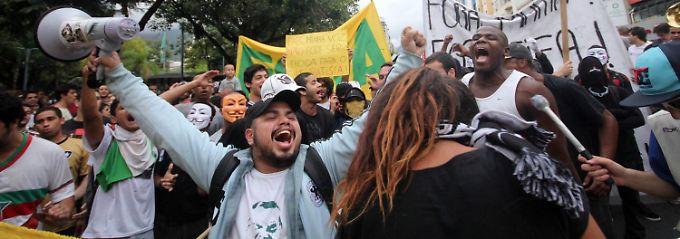 Brasilien war zuletzt Schauplatz massiver Proteste gegen die Regierung.