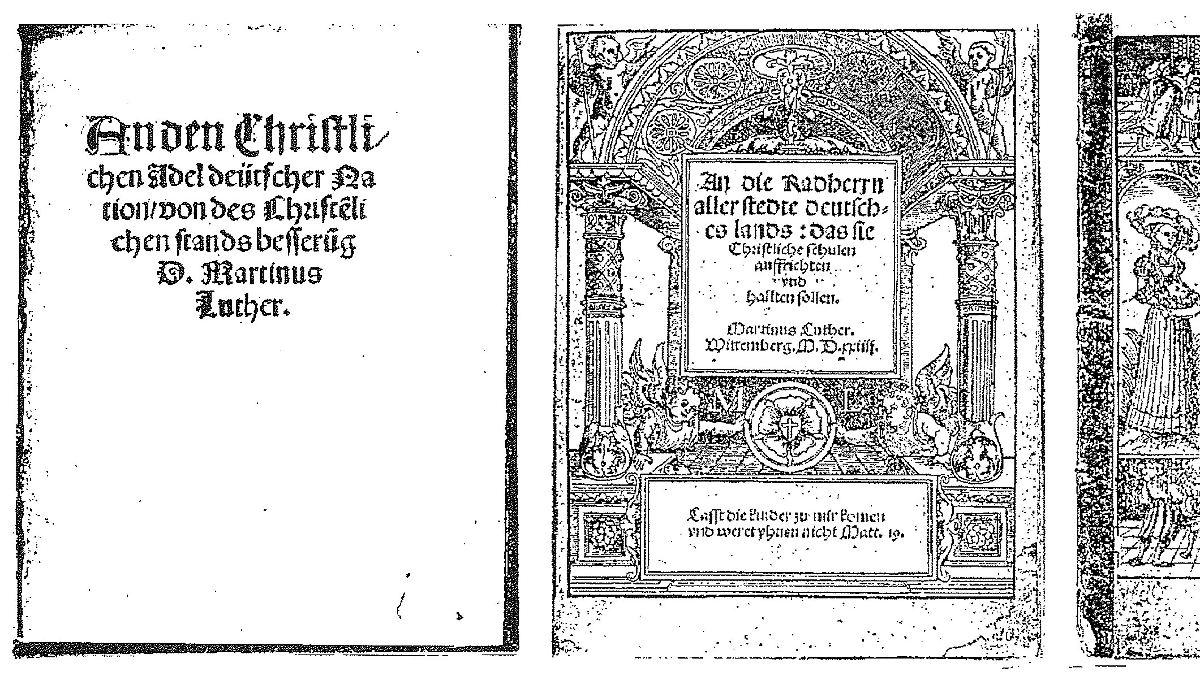 Diebe stehlen wertvolle Luther-Schriften