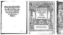 Die wertvollen Schriften werden im Lutherhaus in Eisenach aufbewart, wo Luther seine Schulzeit verbrachte.