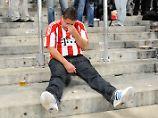 Männer weinen vergleichsweise selten. Doch wenn der FC Bayern mal verliert, können selbst ihnen die Tränen kommen.